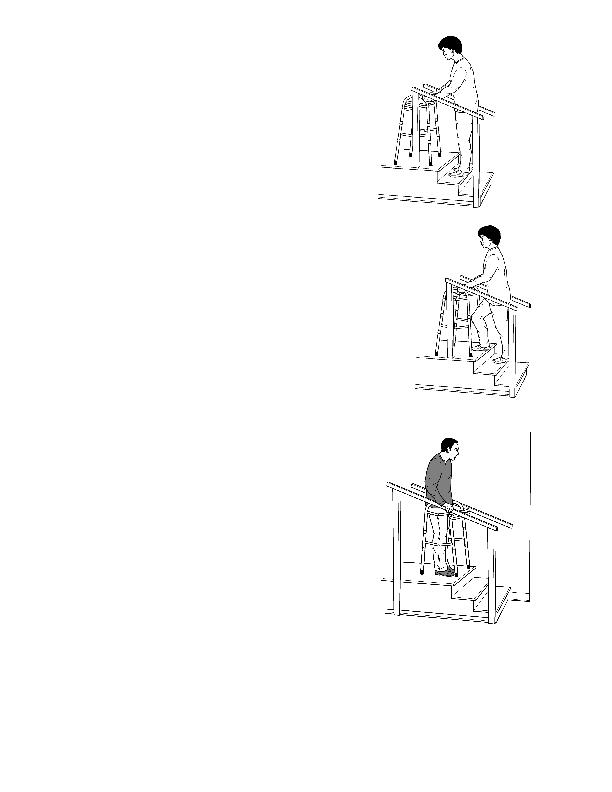 Temas de salud • Cómo usar un andador